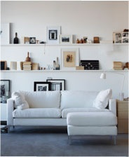 ikea ribba picture ledge frames pinterest ribba picture ledge lounges and picture ledge. Black Bedroom Furniture Sets. Home Design Ideas
