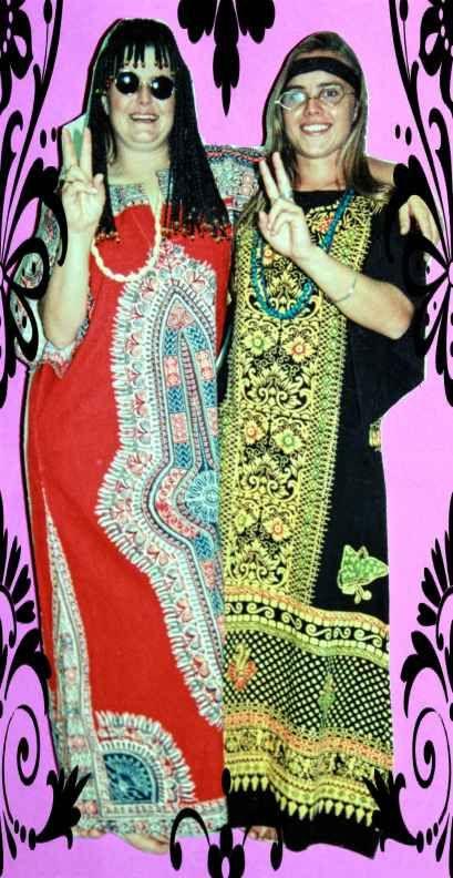Batik Hippy kaftan - Hippy costumes