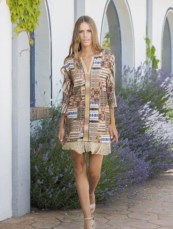 Boho Dress     by MORGANA Italy