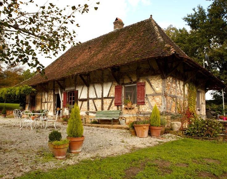 La ferme bressane ext rieur 1 la maison pr f r e des for Exterieur longere
