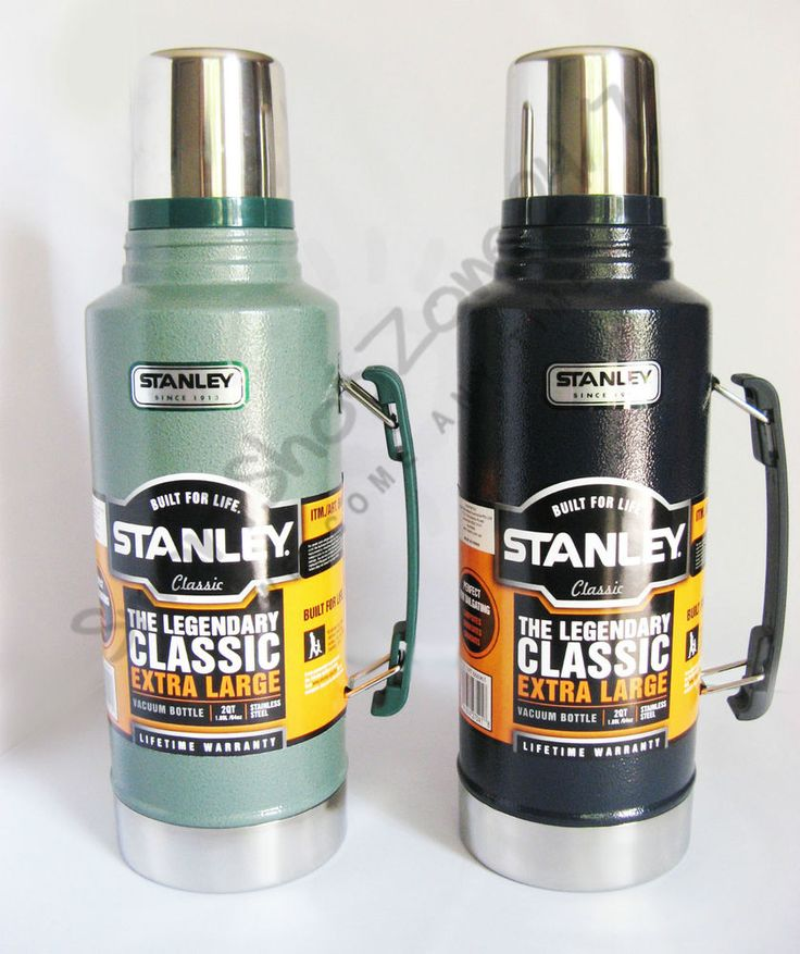 Stanley Classic 1.9L Stainless Steel Thermos Flask Vacuum Insulated Bottle NEW