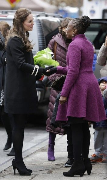 Catherine, Duchess of Cambridge visits Northside Center for Child Development during her official two-day visit to the United States on December 8, 2014 in New York City