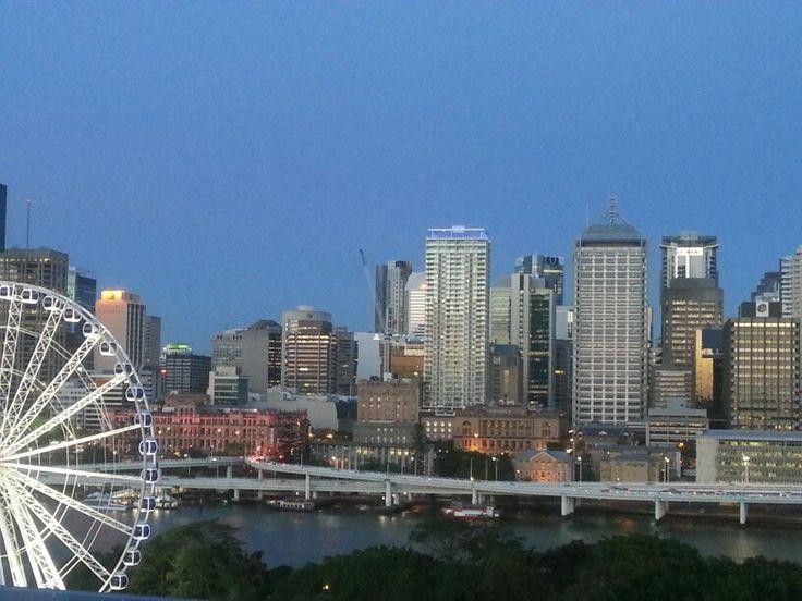 Dusk in Brisbane