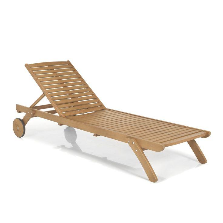 les 25 meilleures idées de la catégorie chaises longues en ... - Chaise Longue Jardin Bois
