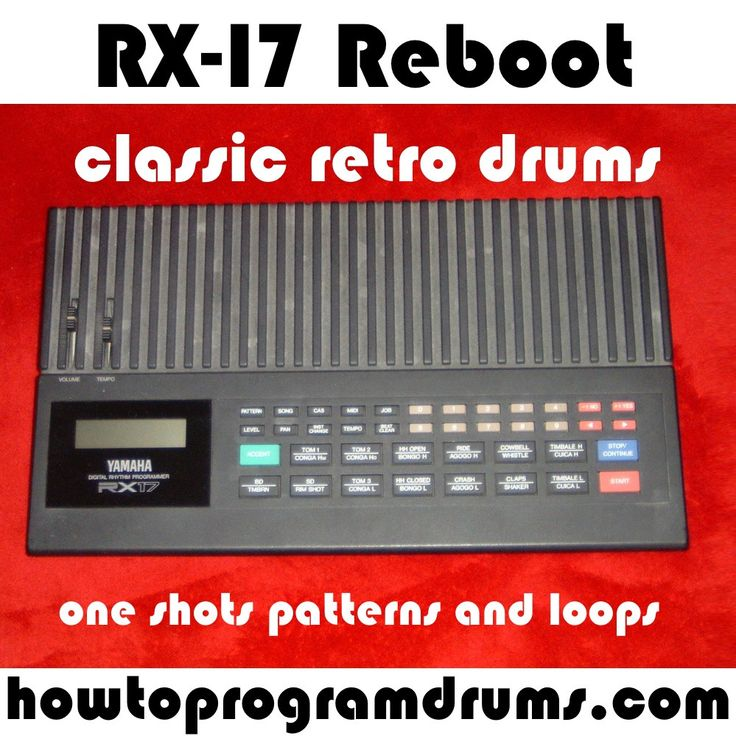 RX-17 Drum Machine Samples Loops One Shots Wavs rx2 rcy | howtoprogramdrums.com  http://www.howtoprogramdrums.com/rx-17-reboot-is-launched/