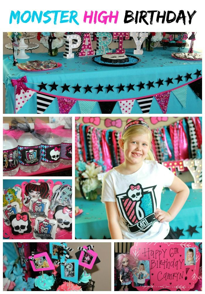 Monster High Birthday Party Ideas