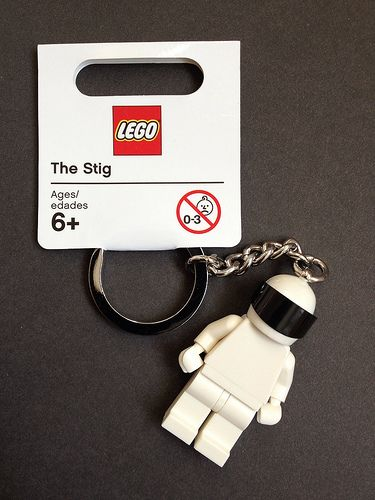 """LEGO Top Gear - The Stig. I read the stig thing and went, """"oh thank god, I thought it was an archaeologist eaten by the vashta nerada"""""""