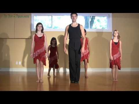 ▶ How to Cha Cha Dance Lesson for Kids - YouTube