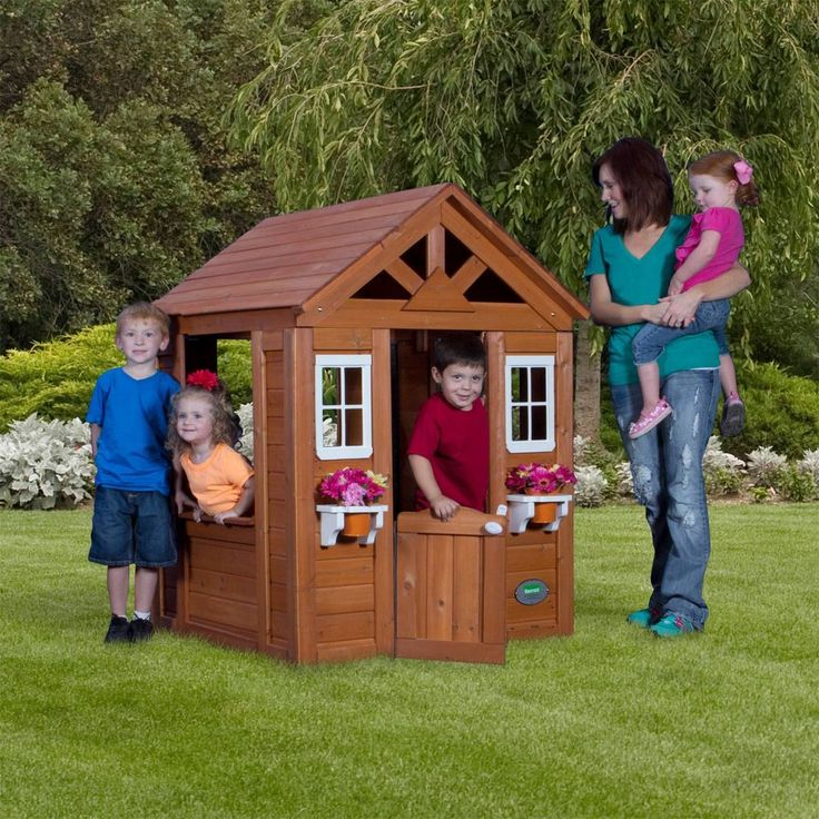 all cedar playhouse by backyard discovery cedar playhouse backyard
