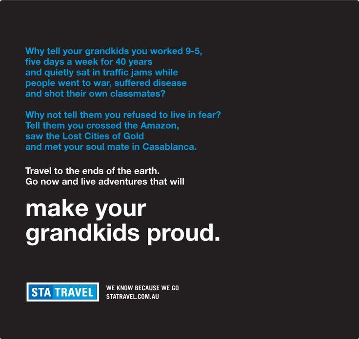 STA- Make Your Grandkids Proud