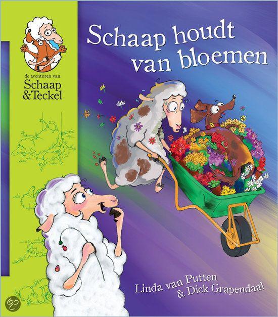 Schaap houdt van bloemen is het eerste boek van Linda van Putten