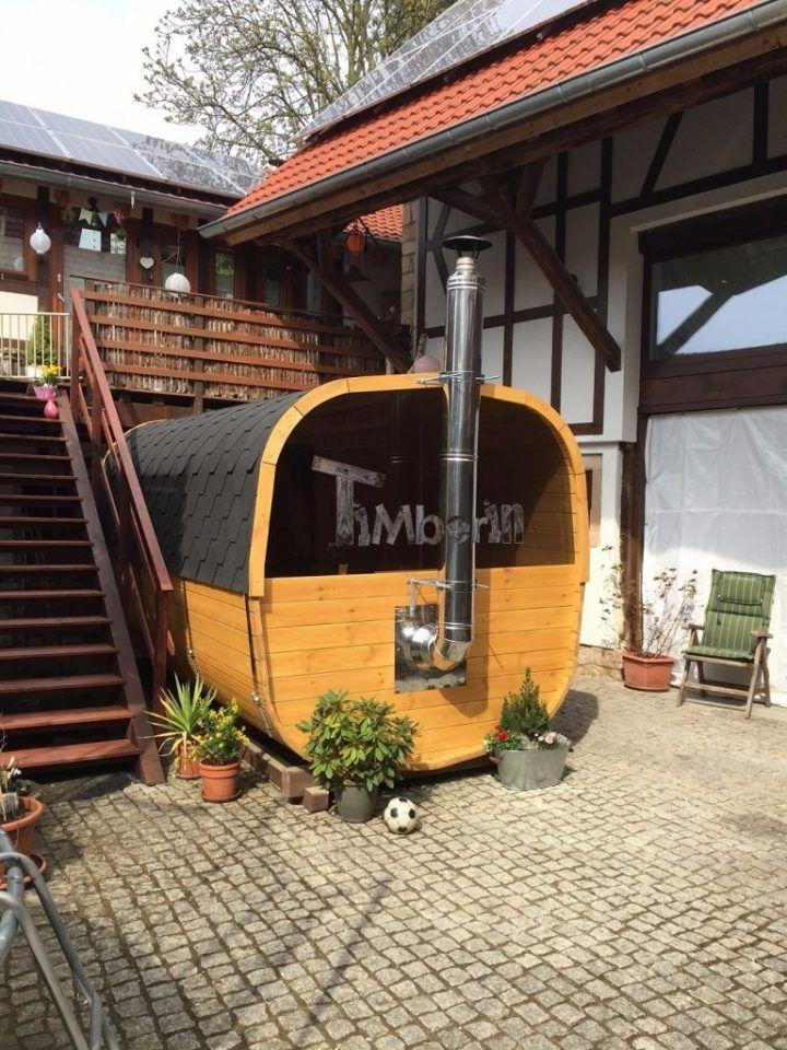 Hallo liebes TimberIn Team !  Nach ca 4 Wochen und viel aufregenden EMails und Telefonaten, kam über pünktlich unsere Traum Sauna ! Die Lieferung lief super und die Sauna ist wirklich MEGA !!! Wir haben sie direkt eingeweiht und sind begeistert ! Vor allem das Panorama Fenster hat sich gelohnt ! Toll !