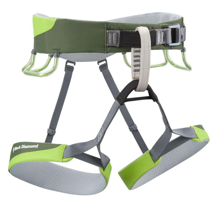 Black Diamond - Ozone, Sport Climbing Harness. Built for ultralight functionality when you're gunning for the send, the Black Diamond Ozone harness, now with four gear loops, offers up a sleek, comfortable fit for serious sport cragging
