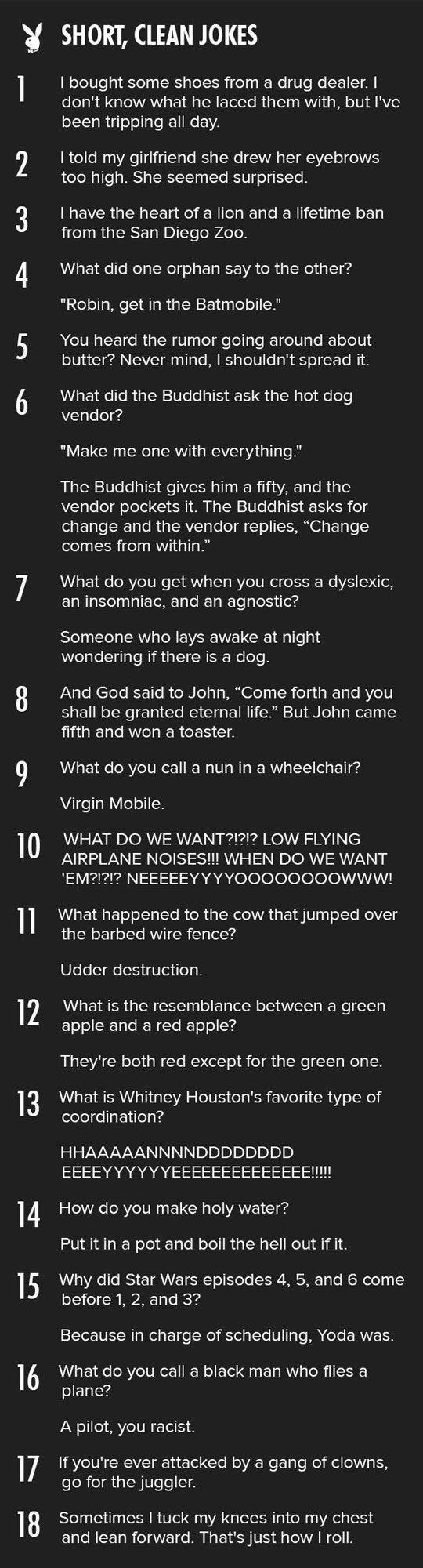 The Best Short Jokes: