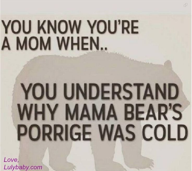 Anyone else's porrige cold? Ha!