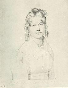 Louise Seidler (Carl Christian Vogel von Vogelstein), Roma 1820. – Wikipedia