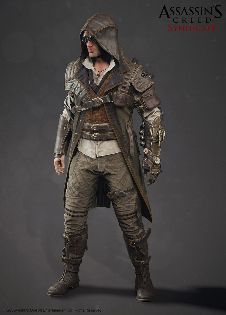 ArtStation - assassin's creed Syndicate steampunk jacob, Alexis Belley                                                                                                                                                     More