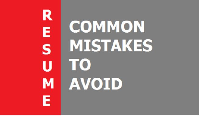 Mistakes you must avoid while writing your resume