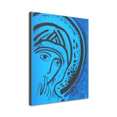 Icono 'Virgen del Silencio' (Lienzo)