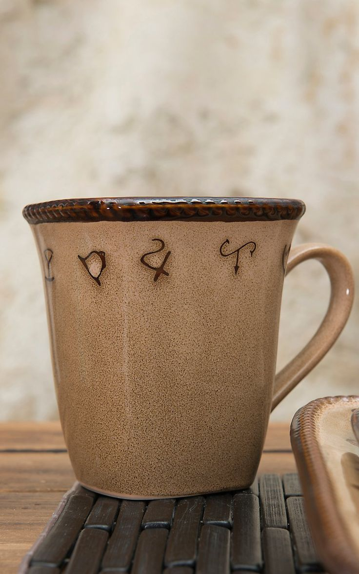 M&F Western Products® Rustic Ranch 4 Piece Mug Set