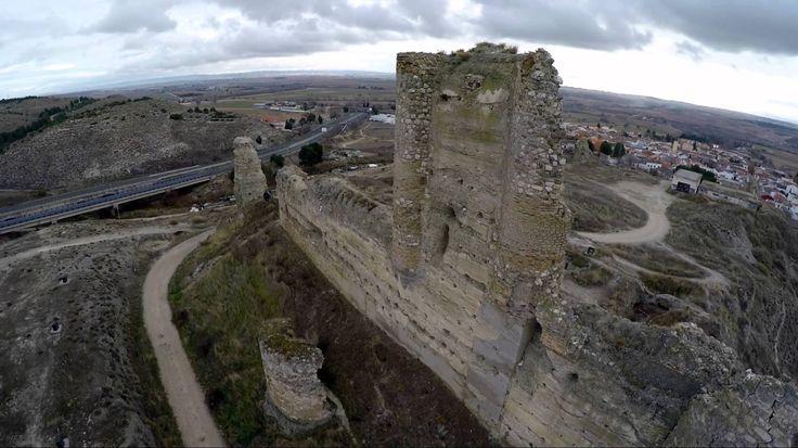 Castillo de Fuentidueña de Tajo (Madrid) Dron 2,7K