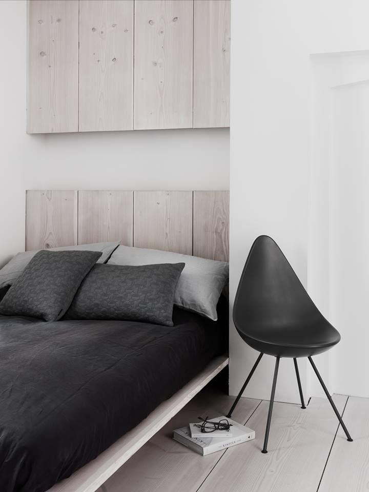 Bedroom storage in wood
