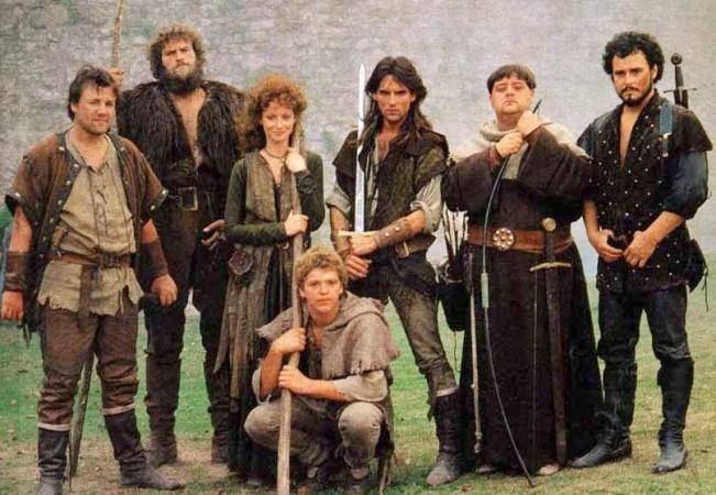 Robin of Sherwood, cast series 1 & 2