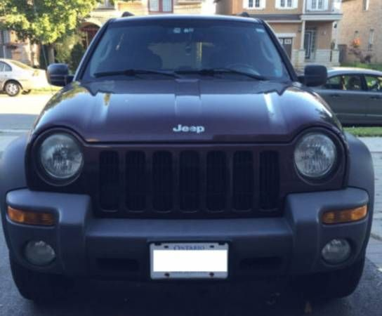 •••***2004 JEEP LIBERTY •••***MUST GO ***•••144KM•••••4X4•••SUV (Thornhill) $1999