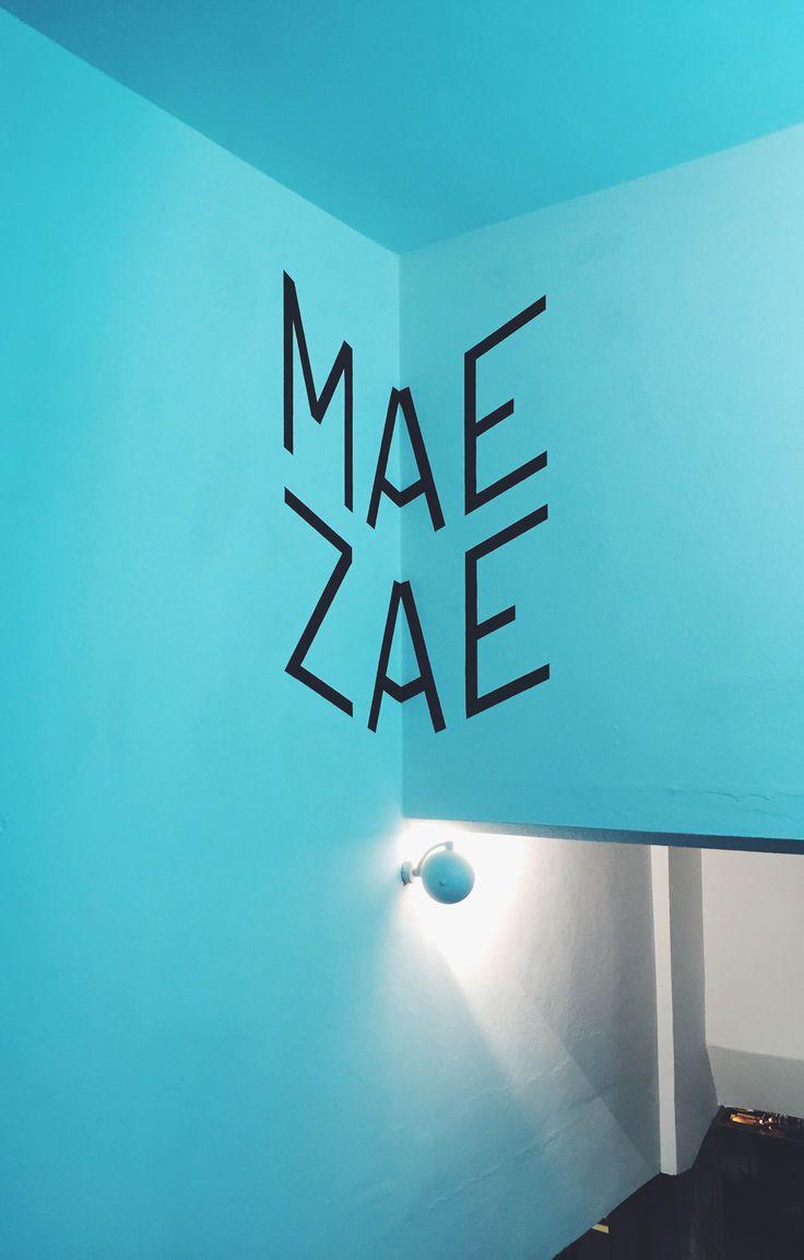 MAE ZAE Istanbul/Karakoy  http://www.maezae.com/