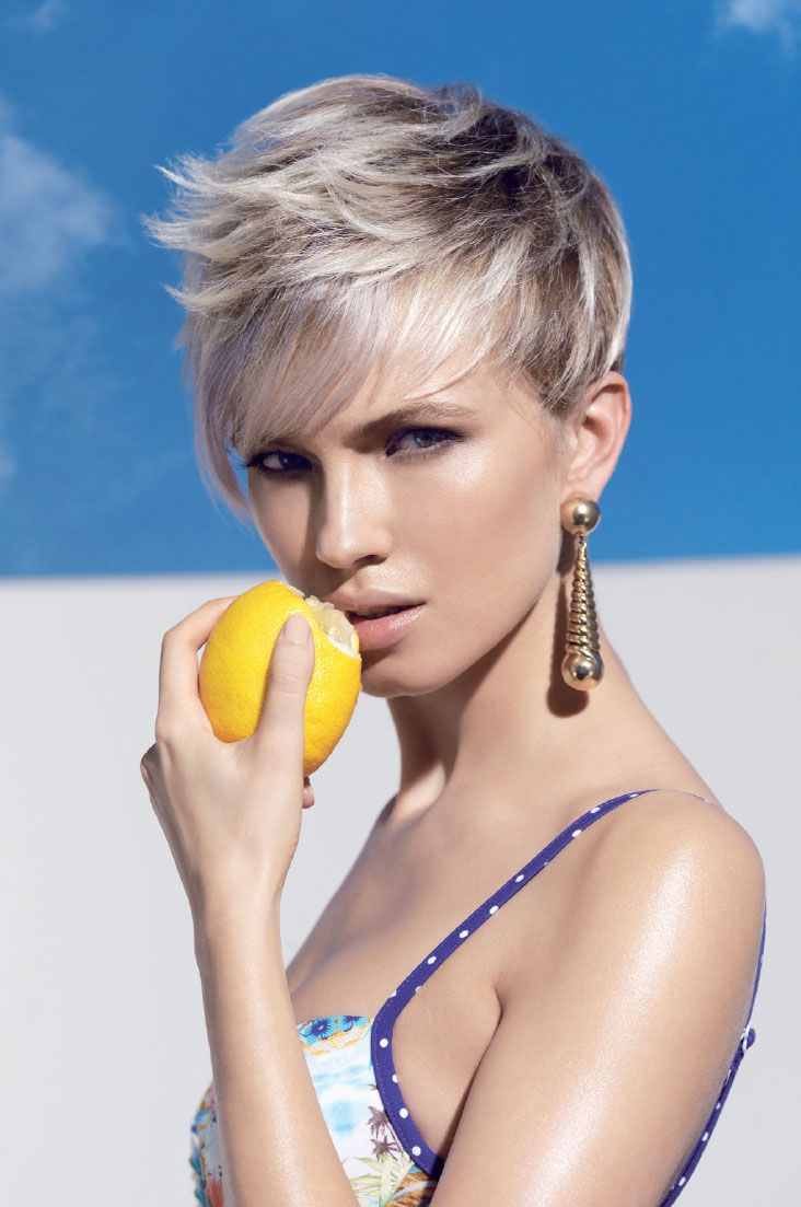 1000+ ideas about Coiffure Dame on Pinterest   Coupe courte blonde ...