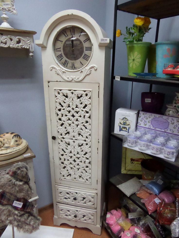 """Купить Часы-шкаф.""""Романтика"""".Винтаж. - часы, часы напольные, винтаж, винтажный стиль"""