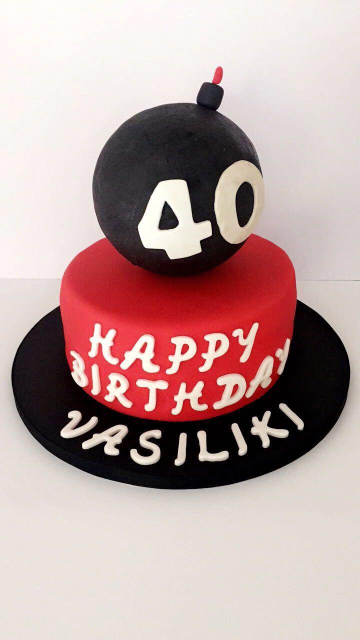 Bomb cake, 40 & fabulous