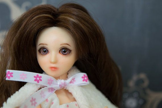 Beautiful OOAK Obitsu Elf Fairy doll in full outfit as shown in the pictures.
