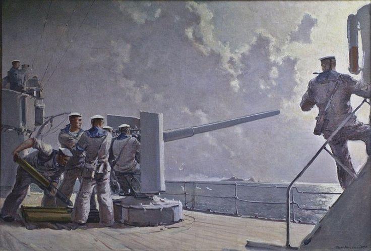 Нисский Георгий Григорьевич (1903-1987) «Тревога на корабле»
