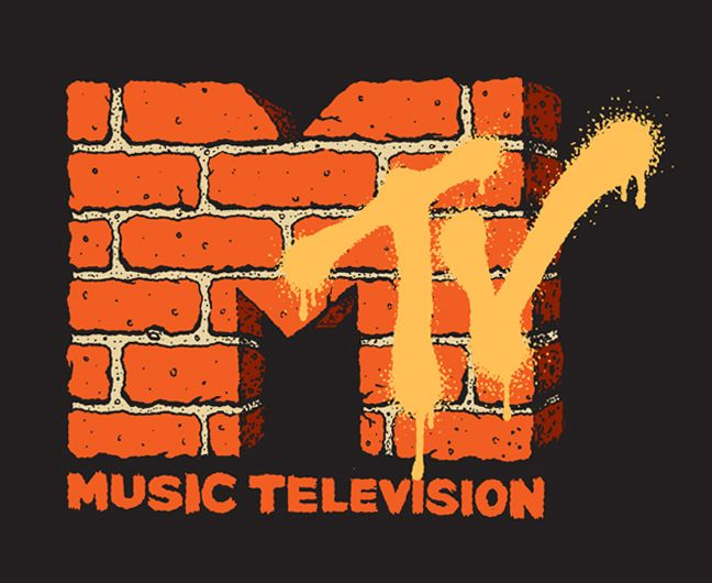 MTV Logo Redesign - Flatbush Brown - Illustration