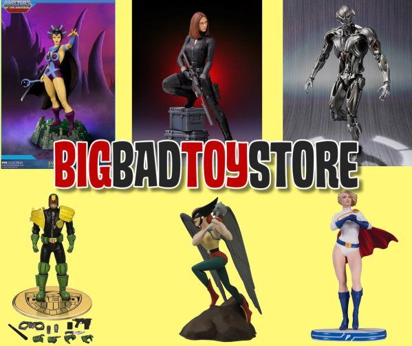 BBTS Sponsor News: Deep Discount Sale, Diamond Select, Judge Dredd, DBZ, Game of Thrones, DC, Metal Gear Solid, And More!