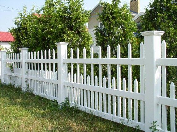 semi private vinyl fence cost per foot ,No maintenance white vinyl fence #vinyl #white #fence