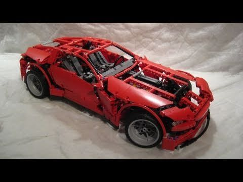 M4X's Creations - Building Lego Technic - 8070 Super Car