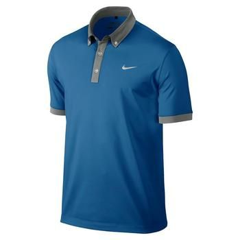 Nike Ultra 2.0 Men's Rory Golf Polo Shirt Blue (599018-496) | Clickgolf.co.uk