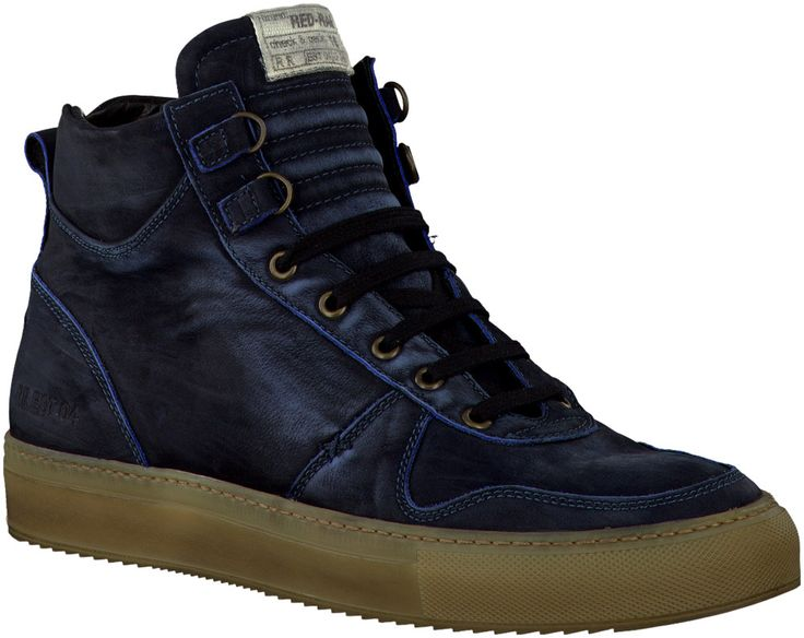 Bleu Red Rag Chaussures à Lacets http://www.omoda.fr/homme/boots/bjorn-borg/bjorn-borg-boots-mark-high-fld-bleu-40390.html