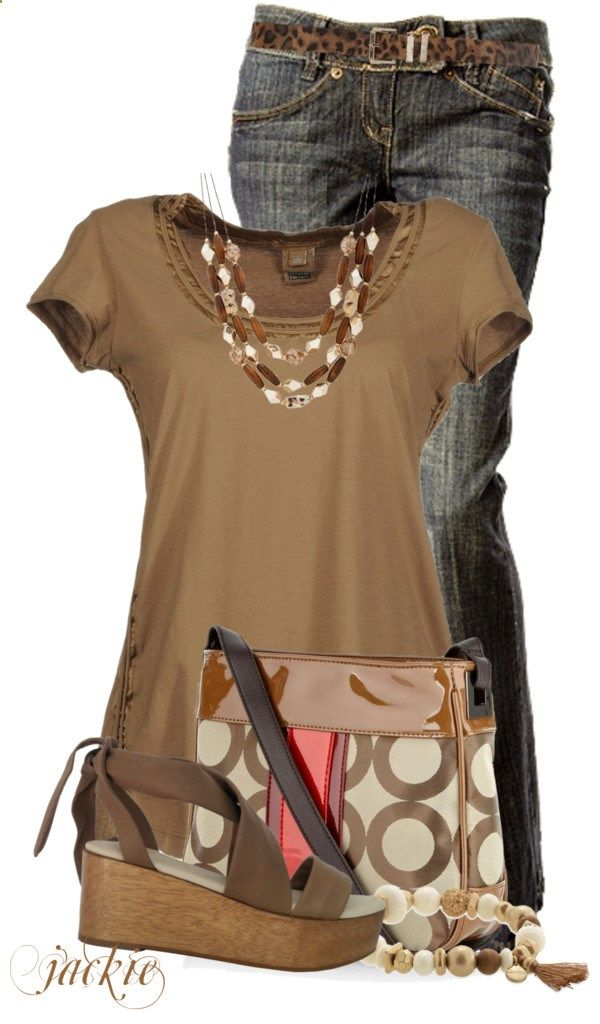 Circle Bag by jackie22 liked on Polyvore
