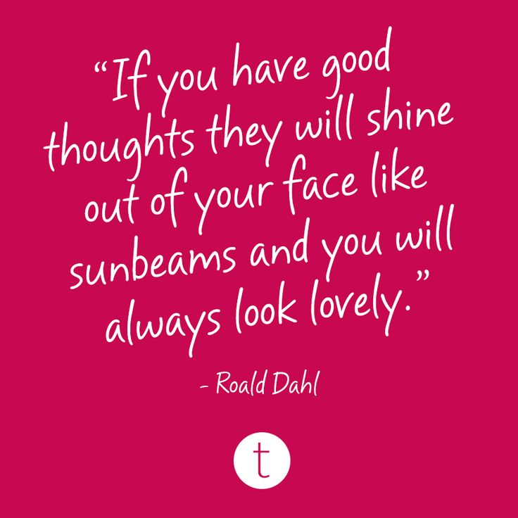 Positive beauty.
