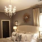 tan curtains grey walls black door- like the whites, creams and Grey's mixed