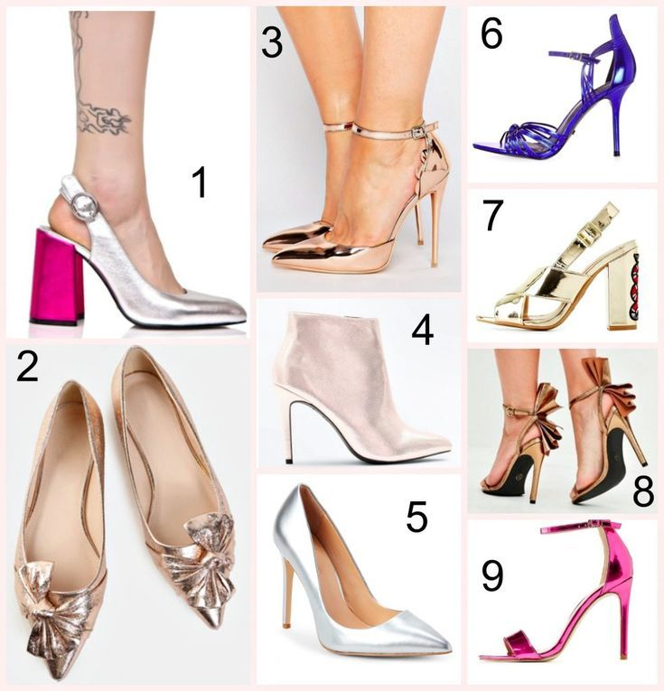 Sexy Metallic Heels Under $40 & How To Style Them! #Style #Shoes #Metallic #SexyShoes