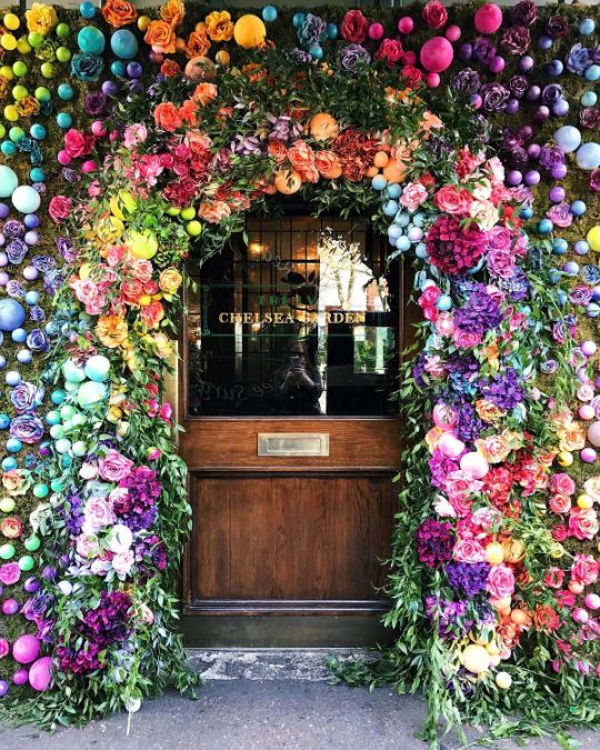 Kathryn Holeywell | The Ivy Cafe, Chelsea, London.