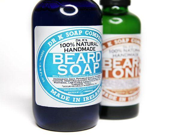 Beard Oil Beard Wash Beard Care Gift Set For Men For Him by DrkSoapCompany on Etsy