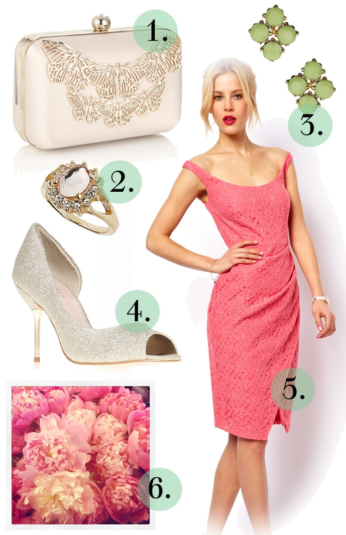 Fearless Brides Fashion Blogger Challenge: Spring-inspired bridesmaid outfit by I Heart Fashion