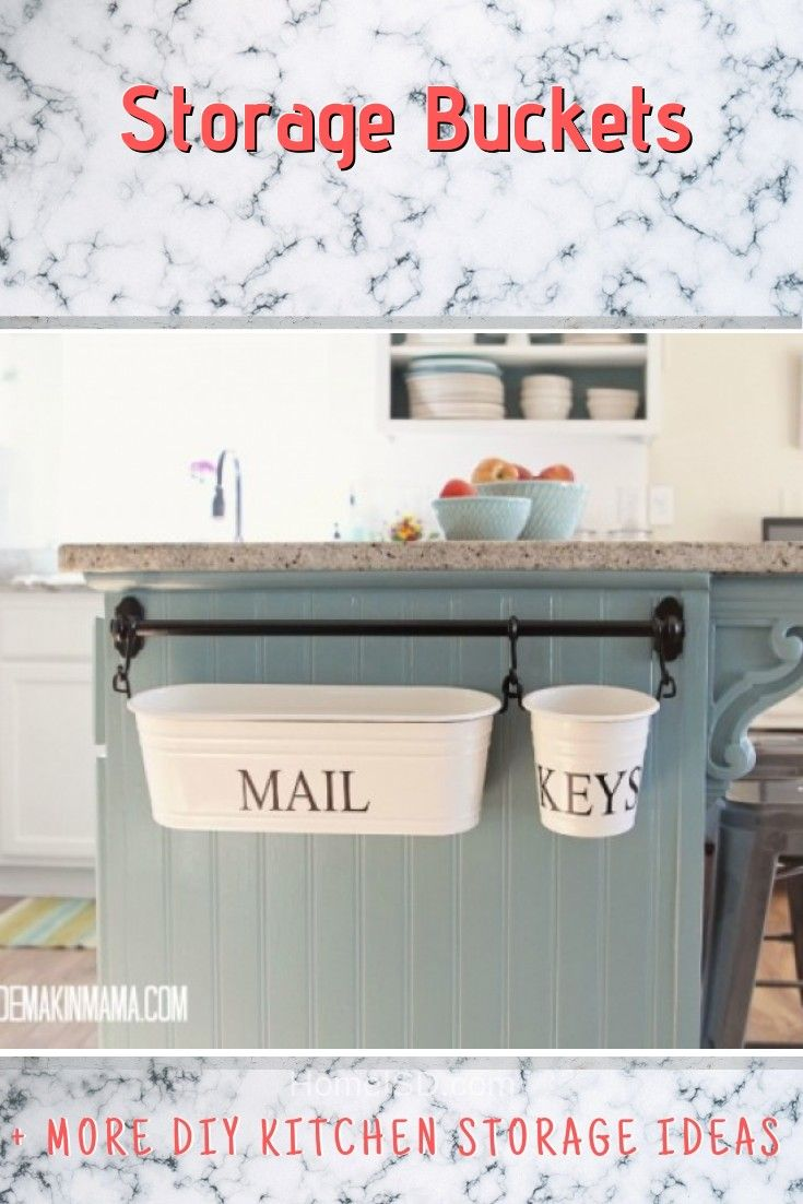 32 Easy Diy Kitchen Storage Ideas On A Budget For The Home Diy