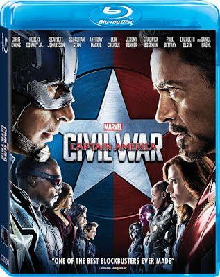 Movies House 24: Captain America: Civil War 2016 Blockbuster Movie ...