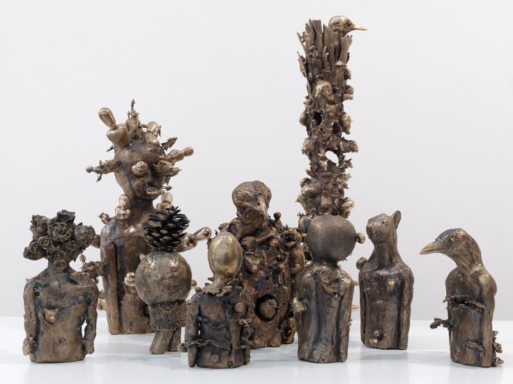 Bronze sculptures of Vittorio Roerade. Photo copyright Eric de Vries/Vittorio Roerade